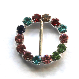 strass buckle 16mm