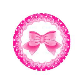 (FB556) strikje roze