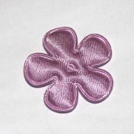25mm satijn bloem LILA