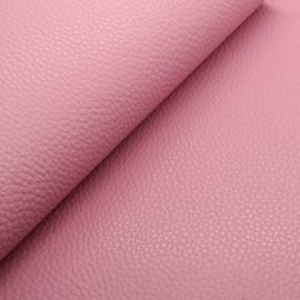 Mooi lapje kunstleer  donker roze (lipa)