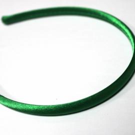 Diadeem groen satijn 10mm