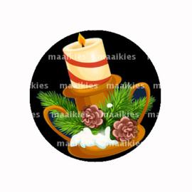 FB741 kerst kaars