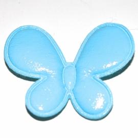 vinyl vlinder blauw