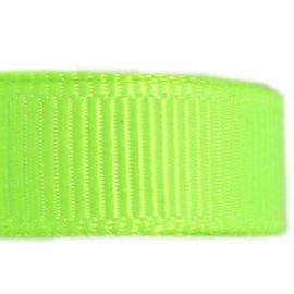 Neon groen grosgrain lint 5m