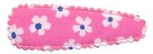 kniphoesje roze bloem wit/royal (5cm)