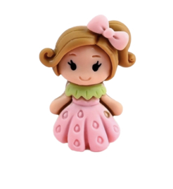 flatback sweet girl roze jurk