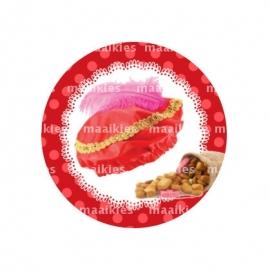 (FB487) pietenmuts rood