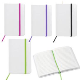Notitie boekje 4 verschillende kleuren