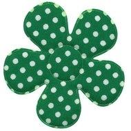 Polkadot bloem groen 47mm
