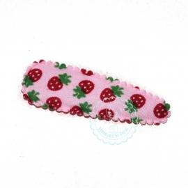 kniphoesje roze aarbei (5cm)