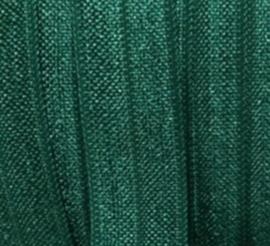 Haarband elastiek forrest green 13mm