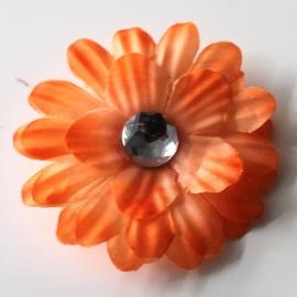 Bloem knipje oranje