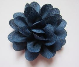 5cm bloem navy (C11)