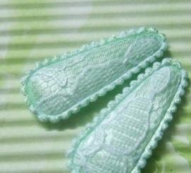 35mm kant kniphoesje mint