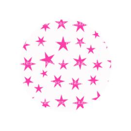 FB791 sterren fuchsia roze