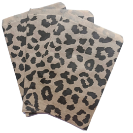 Kadozakje kraft luipaard  13,5x18cm
