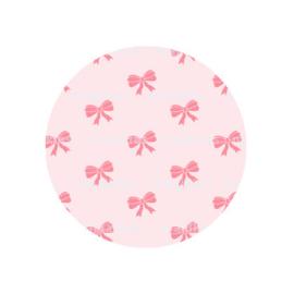 (FB567) strikjes roze/ roze