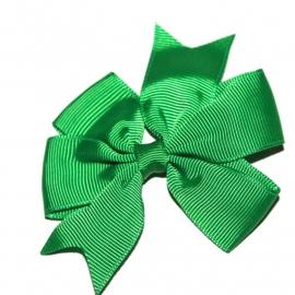 Grote dubbele strik groen