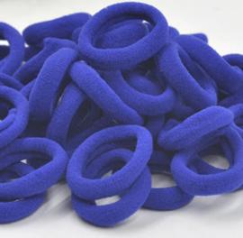 elastiekje kobalt blauw (3cm)
