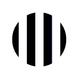 (FB529) strepen zwart wit