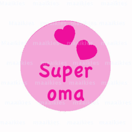 (FB555) super oma roze