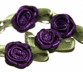 Super kwaliteit roosjes paars