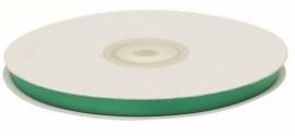 Dubbelzijdig satijn lint 6mm groen