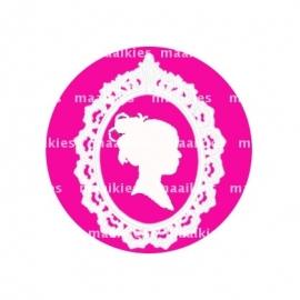 (FB336) roze effen sjiek
