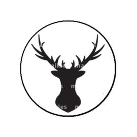 FB783 deer zwart