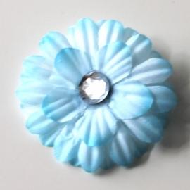 Bloem knipje blauw