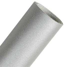 Glad PU leer zilvergrijs (SSP)