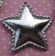 ster zilver 1 stuks