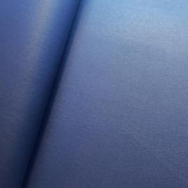 Dun soepel lapje donker blauw pu leer (SK)