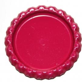 bottlecap flatback fuchia