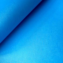 Pu leer knal neon blauw