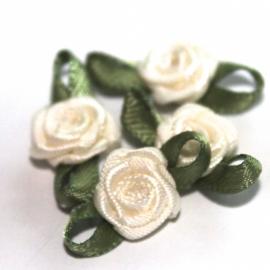 Super kwaliteit roosjes creme