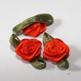 Super kwaliteit roosjes oranje