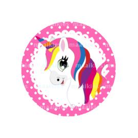 (FB633) unicorn pink