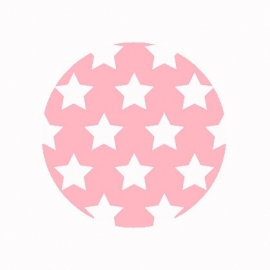 (FB492) sterren roze