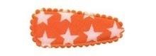 1 kniphoesje oranje ster 35mm