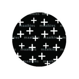 (FB576) witte kruisjes
