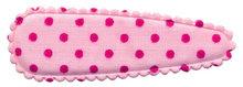 kniphoesje roze / felroze stip (50mm)