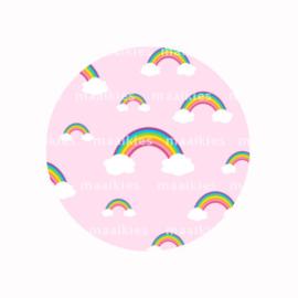 FB733 regenboog roze