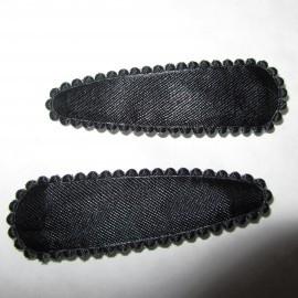 zwarte hoesje satijn (5,0cm)
