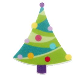 Flat resin kerstboom