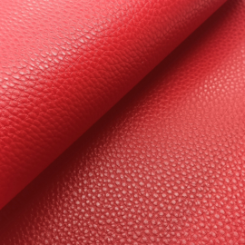 Mooi lapje kunstleer  rood (lipa)