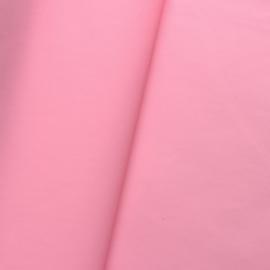 Dun soepel pu lapje zalm roze