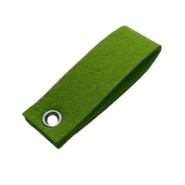 Sleutelhanger vilt dubbele rechthoek Gras groen (24)
