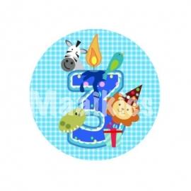 FB332 blauw ruit jarig 3