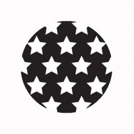 (FB488) sterren zwart